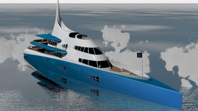 OrganiK superyacht is a green idea behind luxury
