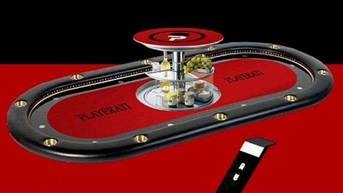 'The world's most exclusive gaming table' is a cocktail of appliance and entertainment