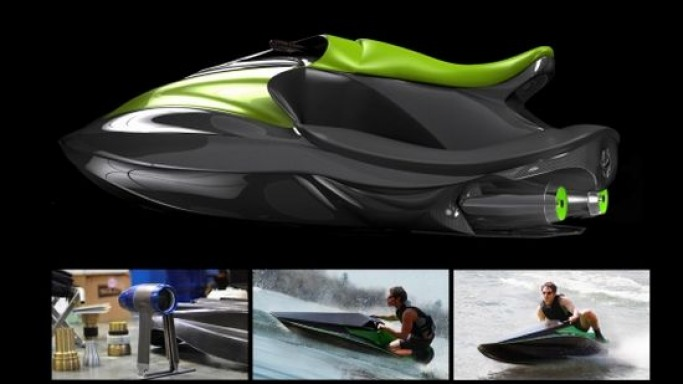 Add more thrill to water sports with electric personal watercraft