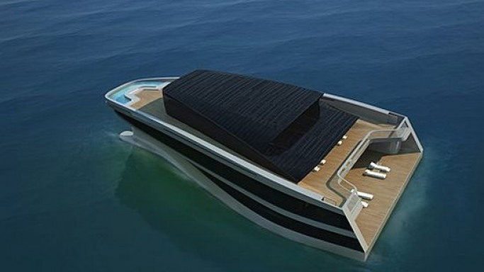 Wally's revolutionary Island Yacht shrinks its size