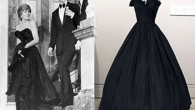 Princess Diana's black taffeta dress fetches $276,000