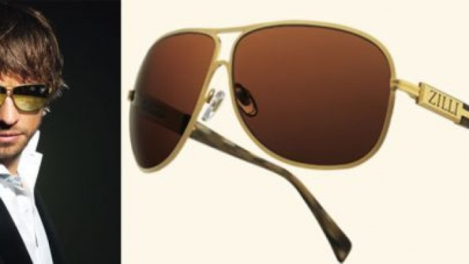 ZILLI celebrates 40 years of success with limited edition gold sunglasses