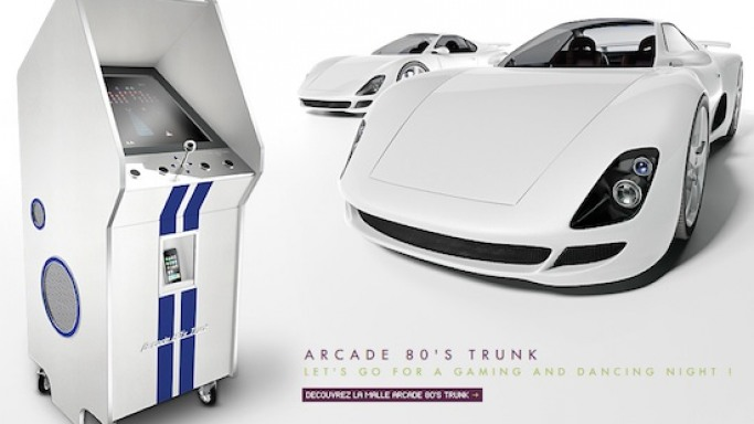 Pinel & Pinel designs Arcade 80's Trunk -cum- iPod jukebox for ultimate entertainment