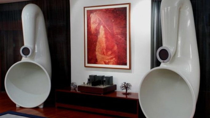 Arcadian Audio's Pnoe horn speakers scream high-end performance