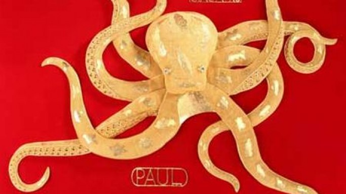 Psychic Paul the Octopus done in 22-karat gold