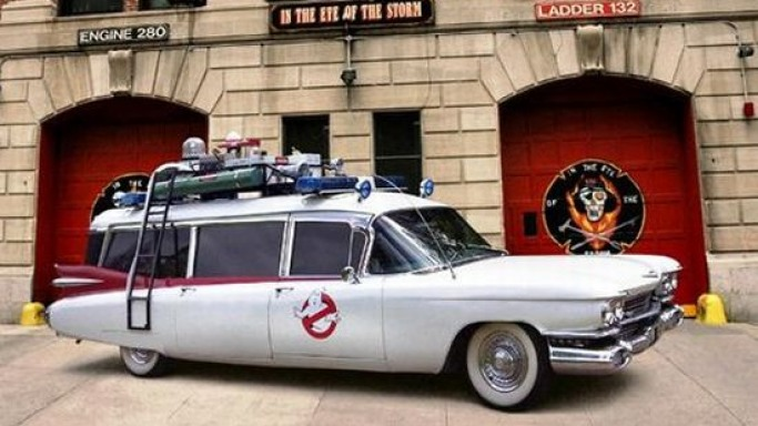 Ghostbusters Cadillac reaches Historics at Brooklands auction