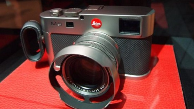 Yet another Leica M9 limited edition…this time in titanium