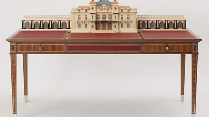 David Linley's $100,000 Monte Carlo Casino writing desk