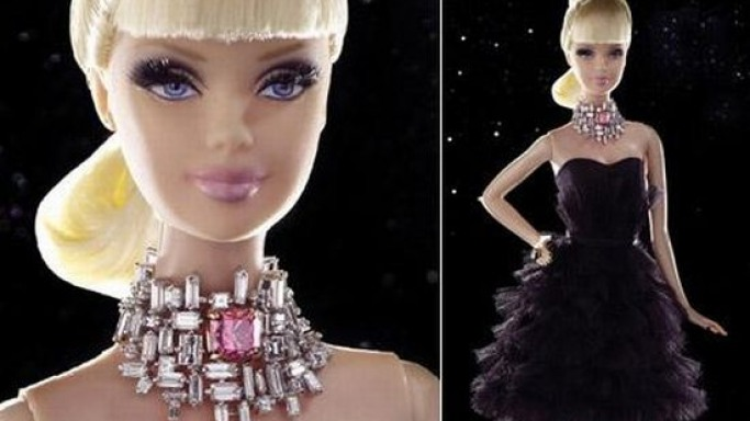 World's most expensive Barbie doll sold for charity