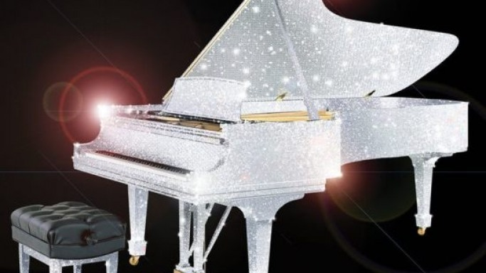 CrystalRoc teams up with Steinway & Sons for Swarovski-studded pianos