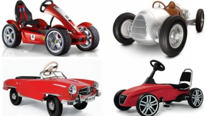 Toy cars your rich little kids would love to drive