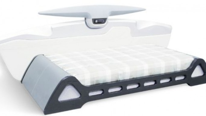 Automotive styled multimedia bed by Slava Saakyan