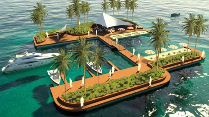 Floating Pleasure islands is the perfect vacation hot spot for the super rich