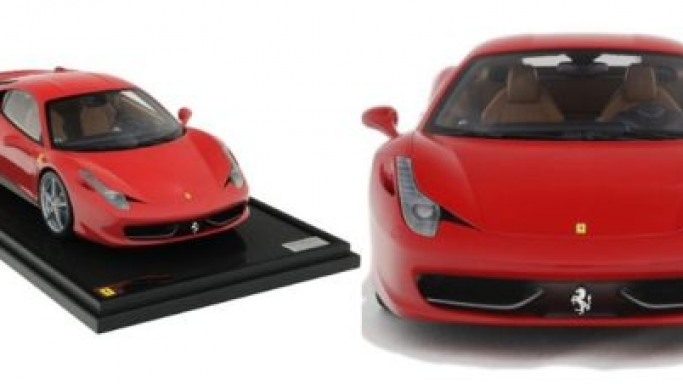 Incredibly detailed Ferrari 458 Italia at 1/8th Scale