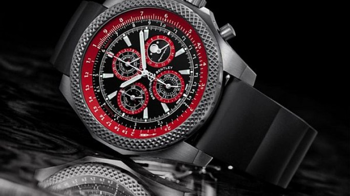 Limited edition Breitling for Bentley Supersports Light Body watch