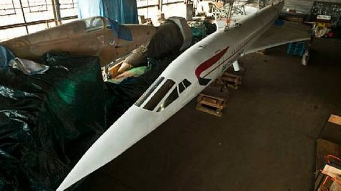 Times Square Concorde replica hits the auction block
