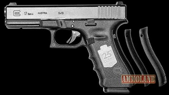 Glock celebrates 25 years of success in the U.S. with limited edition pistol