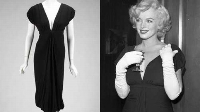 Marilyn Monroe's black cocktail dress sells for record $348,000