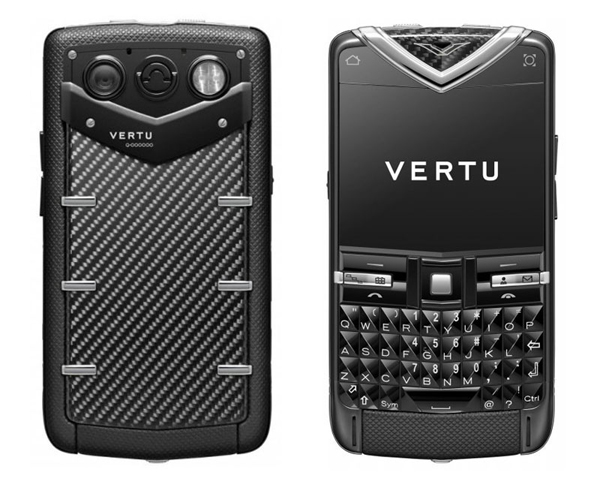Vertu Constellation carbon-fibre smart-phone combines design of aeronautics and motorsports