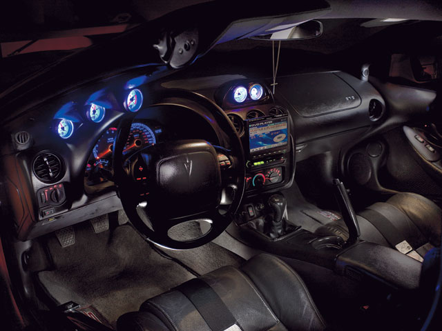 Pontiac Firebird Interior