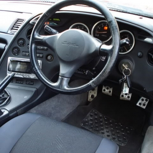 Toyota Supra Turbo Interior
