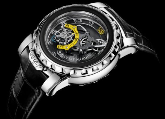 Ulysse Nardin unveils special Freak Diavolo to celebrate its owner's 75th birthday