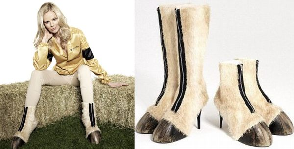Who's buying the £1,300 horse hoof shoes?