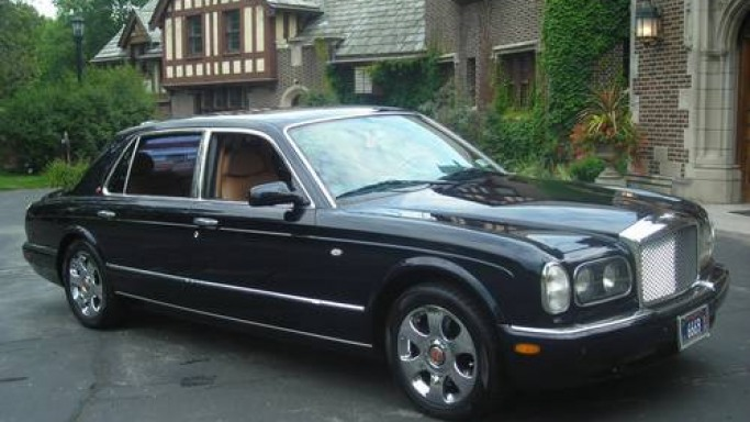 2002 Bentley Long Wheel Base Limo