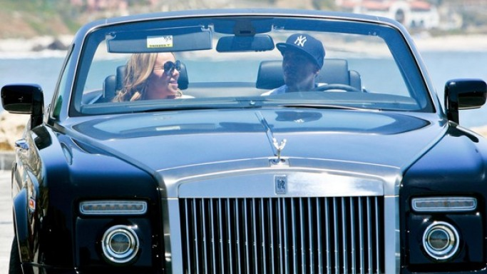 Mariah Carey's Rolls Royce Drophead Coupe