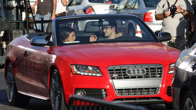 Justin Timberlake's Audi S5 Cabriolet